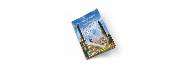 Brochure met temperatuur-instrumentatie voor industriële toepassingen