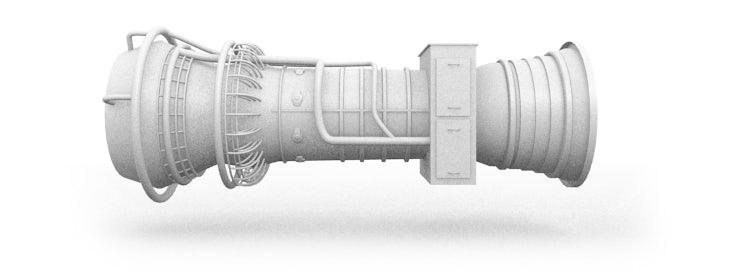 Trillingsmetingen / vibratiemetingen bij gasturbine